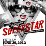 Superstar June_White Party