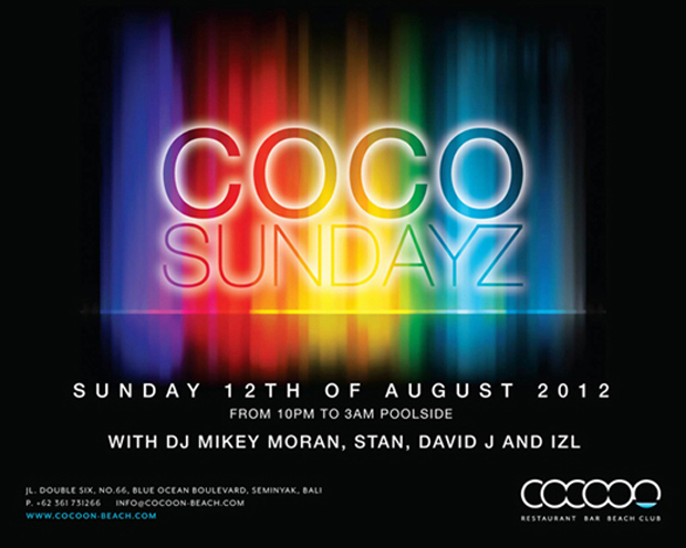 Upcoming Events August – Coco Sundayz & Electrocute
