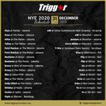 SCHEDULE DJS & MCS NYE 31 December 2019