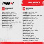 SCHEDULE DJS & MCS 27 – 28 November 2019