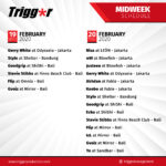 SCHEDULE DJS & MCS 19 – 20 February 2020