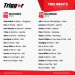 SCHEDULE DJS & MCS 04 – 05 DECEMBER 2019