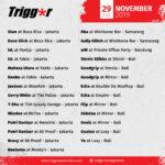 SCHEDULE DJS & MCS 29 November 2019