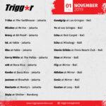 SCHEDULE DJS & MCS 01 November 2019