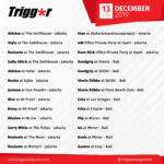 SCHEDULE DJS & MCS 13 December 2019