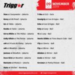 SCHEDULE DJS & MCS 09 November 2019