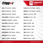 SCHEDULE DJS & MCS 08 FEBRUARY 2020